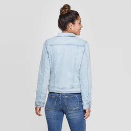Women's Essential Freeborn Denim Jacket - Universal Thread™ Blue   Target