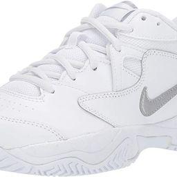 Women's Court Lite 2 Tennis Shoe, Metallic Silver-White, 8 Regular US | Amazon (US)