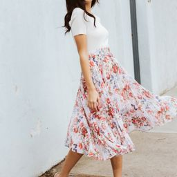Alexis Pleated Georgette Skirt | Forever New (AU)