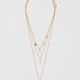 Triple-strand Necklace | H&M (US)