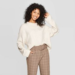 Women's Casual Fit Long Sleeve Crewneck Pullover Sweater - A New Day™ | Target