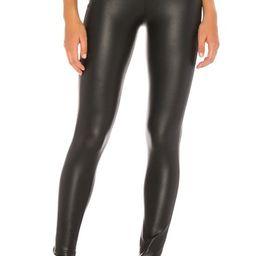 Plush Fleece Lined High Waisted Liquid Legging in Black from Revolve.com | Revolve Clothing (Global)