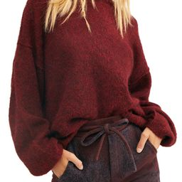 Angelic Balloon Sleeve Sweater | Nordstrom