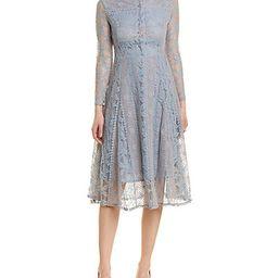 Kamilan A-Line Dress   Gilt