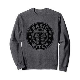 Women Basic Witch Coffee Casual Graphic Vintage Style Gift Sweatshirt | Amazon (US)