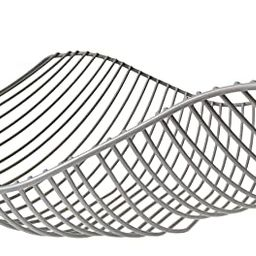 Vistella Fruit Bowl Basket in Matte Gray Silver - 6 Colors Available - Stainless Steel Wire Desig...   Amazon (US)