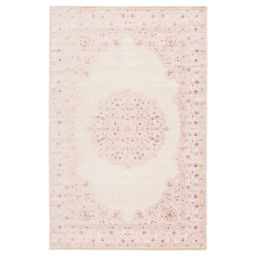 Fontanne Pink/White Area Rug | Wayfair North America