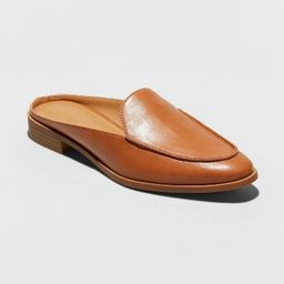 Women's Dekota Backless Slip On Mules - Universal Thread™ Cognac | Target