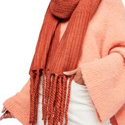 Jaden Rib Knit Blanket Scarf   Nordstrom