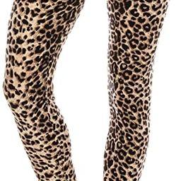 ALWAYS Women Printed Soft Leggings - Super Soft Strech   Amazon (US)