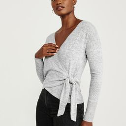 Wrap Top | Abercrombie & Fitch US & UK
