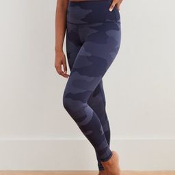 Aerie Play Textured Camo High Waisted 7/8 Legging   American Eagle Outfitters (US & CA)
