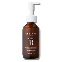 One Love Organics Vitamin B Enzyme Cleansing Oil + Makeup Remover - Dermstore   Dermstore