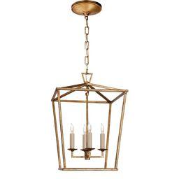 Darlana Small Lantern, Gild | Williams-Sonoma