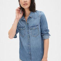 Denim Western Shirt | Gap (US)