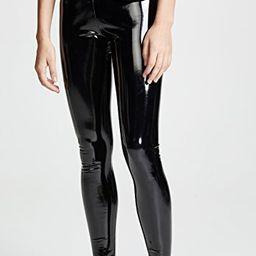 Faux Patent Leather Perfect Control Leggings   Shopbop