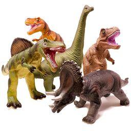 Boley 5 Piece Jumbo Dinosaur Set - Kids, Children, Toddlers Highly Detailed, Realistic Toy Set fo...   Amazon (US)