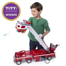 Paw Patrol Ultimate Rescue Fire Truck with Extendable 2'. Tall Ladder, for Ages 3 & Up   Amazon (US)