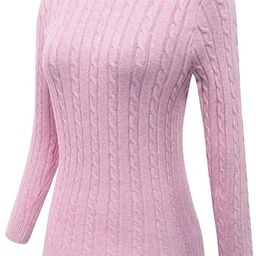 For G and PL Women Long Sleeve Knit Sweater | Amazon (US)