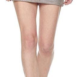 Painted Heart Women's Patchwork Faux-Suede Mini Skirt | Amazon (US)