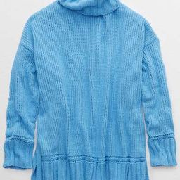 Aerie Chenille Oversized Turtleneck | American Eagle Outfitters (US & CA)