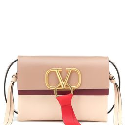 Valentino Garavani VRING Small leather crossbody bag   Mytheresa (US)