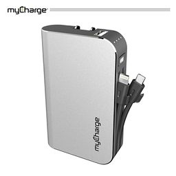 myCharge Portable Charger Power Bank - HubPlus 6700 mAh External Battery Pack | Wall Charger Fold... | Amazon (US)