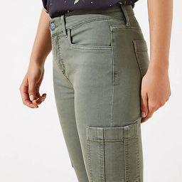 Cargo Skinny Jeans in Evergreen Haze   LOFT   LOFT