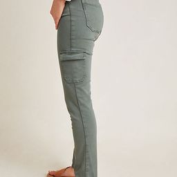 Paige Hoxton High-Rise Cargo Skinny Jeans | Anthropologie (US)