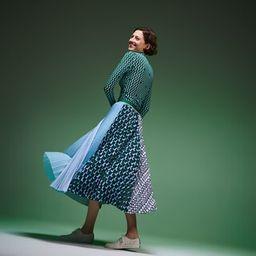 Fashion Show bedruckter asymmetrischer Damen-Rock | Lacoste (DE)