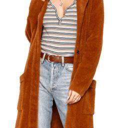 Ramona Faux Fur Sweater Coat   Nordstrom