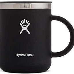 Hydro Flask 12 oz Travel Coffee Mug - Stainless Steel & Vacuum Insulated - Press-In Lid - Black | Amazon (US)