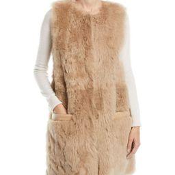Reversible Leather & Lamb Fur Vest | Neiman Marcus