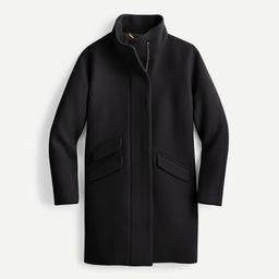 Cocoon coat in Italian stadium-cloth wool | J.Crew US
