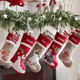 Woodland Stocking Collection   Pottery Barn Kids