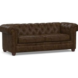 Chesterfield Leather Sofa | Pottery Barn (US)