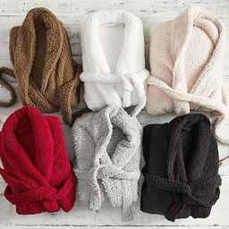 Teddy Bear Faux Fur Bath Robe   Pottery Barn (US)