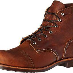 "Red Wing Heritage Men's Iron Ranger 6"" Vibram Boot | Amazon (US)"