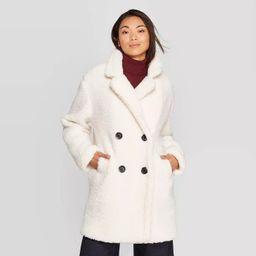 Women's Teddy Coat - A New Day™   Target