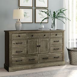 Arthurs 9 Drawer Combo Dresser   Wayfair North America