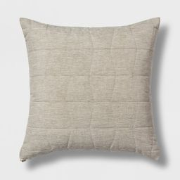 Quilted Geo Throw Pillow - Project 62™ | Target