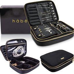 Habe Travel Jewelry Organizer Case - Truly Tangle Free - Space Saving Jewelry Storage Bag - Small...   Amazon (US)