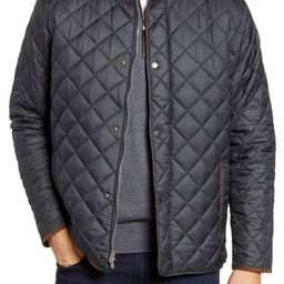 Suffolk Quilted Water-Resistant Car Coat   Nordstrom