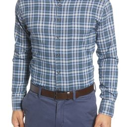 Douglas Regular Fit Check Performance Flannel Button-Down Shirt   Nordstrom