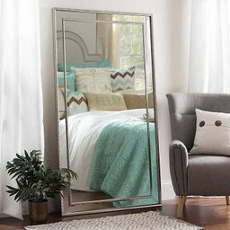 Large Silver Luxe Leaner Mirror, 37.2x67.2 in.   Kirkland's Home