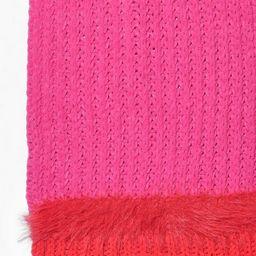 Colourblock Chunky Mixed Knit Scarf | Boohoo.com (US & CA)