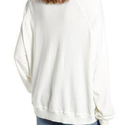 Aprés Ski Kiss Me Cotton Sweatshirt   Nordstrom