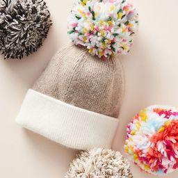 Pick-A-Pom Multicolored Topper | Anthropologie (US)