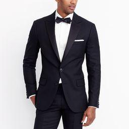 Peak-lapel tuxedo jacket in wool | J.Crew Factory