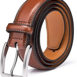Men's Genuine Leather Dress Belts Made with Premium Quality - Classic and Fashion Design for Work... | Amazon (US)